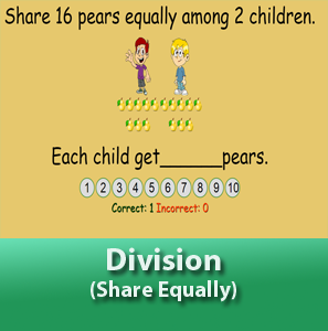 Division - Share equally