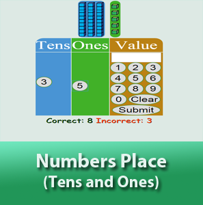 Numbers Place - Tens and Ones