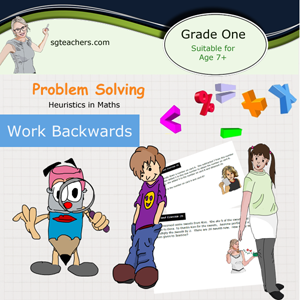 Heuristic Math approach    (Working Backward approach) - Singapore Math curriculum