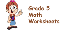 Singapore Math Worksheets Grade 5