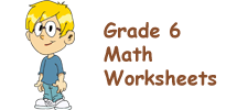 Singapore Math Worksheets Grade 6