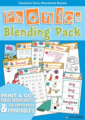 Phonics Blending Pack