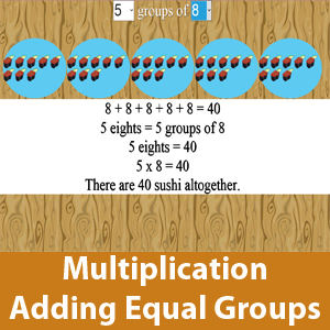 Adding Equal Groups (Multiplication)