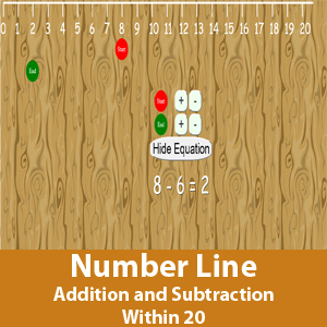 Number Line (Addition and Subtraction within 20)