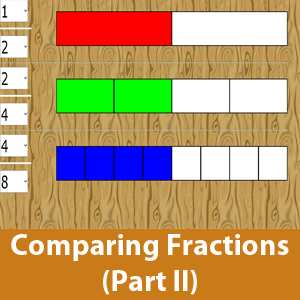 Compare Fractions Part 2