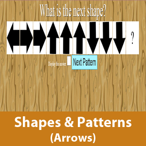 Shapes and pattern (Arrow Signs)
