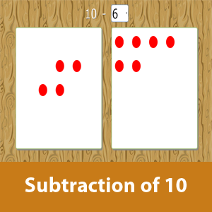 Subtraction of 10