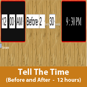 Time (Before and After 12 hours)