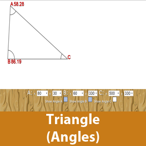 Triangle (Find the Angles)