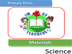 Primary 3 Science Materials